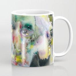 ALBERT EINSTEIN watercolor portrait.10 Coffee Mug