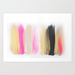 Colors 206 Art Print