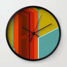 The Door 01 Wall Clock