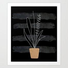 Scandi Plant 2 Art Print