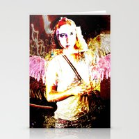 angels Stationery Cards featuring Angels by Maya Kechevski