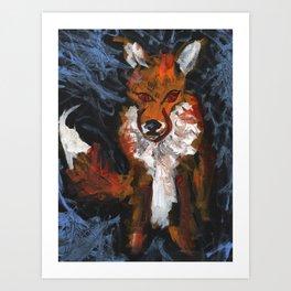 Cosmic Fox Art Print