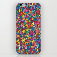 mosaic iPhone & iPod Skins featuring Mosaic by Juliana Kroscen