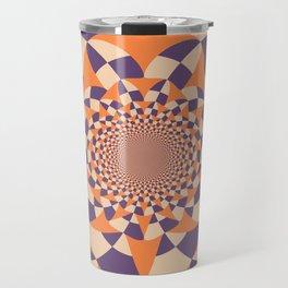 Windmill abstract Travel Mug