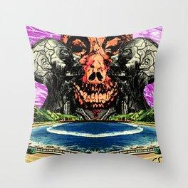 Round and Round Throw Pillow