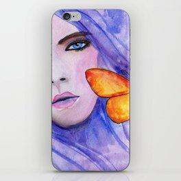 Purple Autumn iPhone Skin