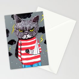When It Rains, It Pours... Stationery Cards