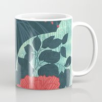 ruby Mugs featuring Ruby by Tracie Andrews