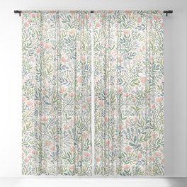 Month of June ~ light Sheer Curtain