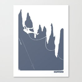tufas Canvas Print
