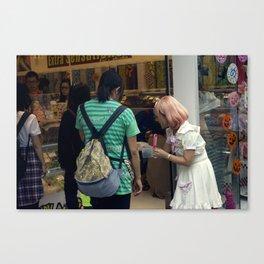 extra sensations Canvas Print