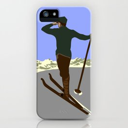Each mountain peak you ascend iPhone Case