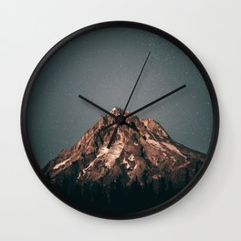 Mount Hood VI Wall Clock
