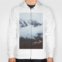 On a cloudy day - Landscape and Nature Photography Hoody