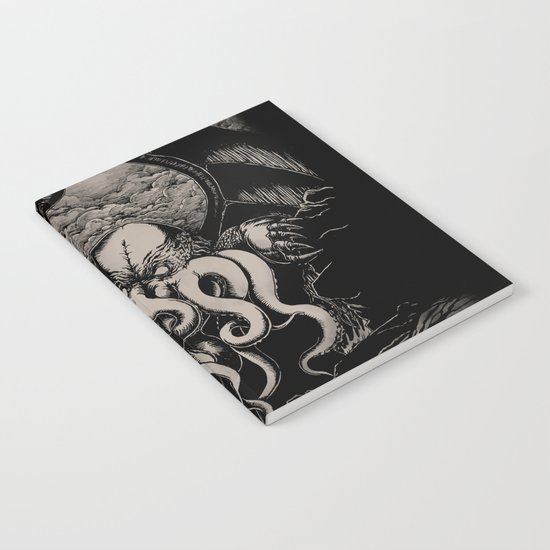 The Rise of Great Cthulhu Notebook