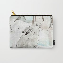 Snow Rabit Carry-All Pouch
