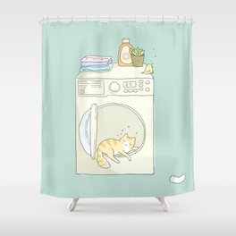 Lazy Time Shower Curtain