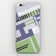 Leger Ballet Mechanique iPhone & iPod Skin