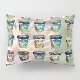Ben & Jerry's Ice Cream Flavors Pillow Sham