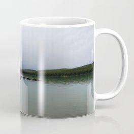 Maligne Lake Boathouse Coffee Mug
