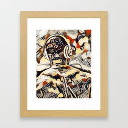 City Man Framed Art Print