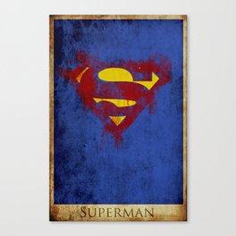 Super Logo Canvas Print