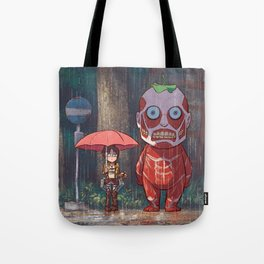 My Neighbor Titan Tote Bag