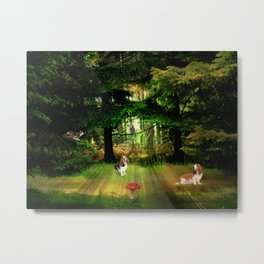 The Race. Metal Print