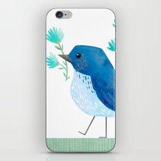Mountain Bluebird iPhone & iPod Skin