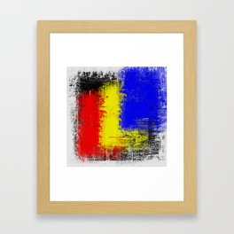 Between The Two Framed Art Print