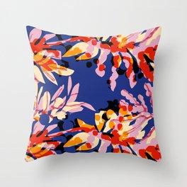 Island Ray Throw Pillow