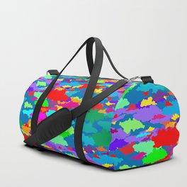 Neon Clouds Duffle Bag