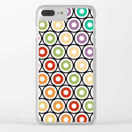 Rangeen Britto Char Clear iPhone Case