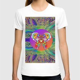 LOVE WITH A COSMIC BUTTERFLY T-shirt