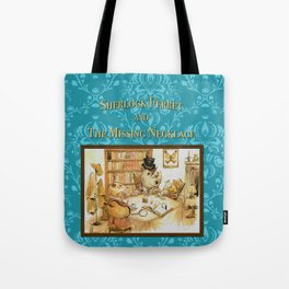 Sherlock Ferret and the Missing Necklace (cover) Tote Bag