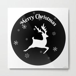 Merry Christmas2 Metal Print
