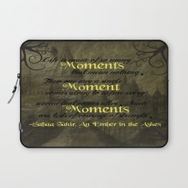 An Ember in the Ashes - Moments Laptop Sleeve