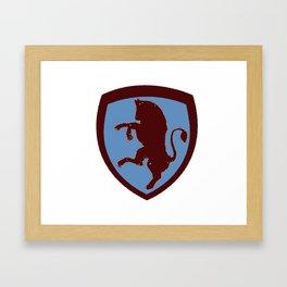 Calciobalilla - Table Football - TORO Framed Art Print