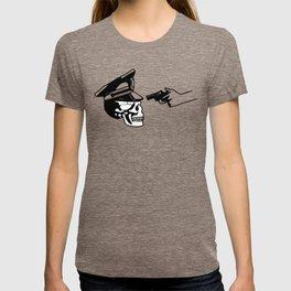 Aim skull cop T-shirt