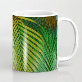 TROPICAL GREENERY LEAVES Coffee Mug