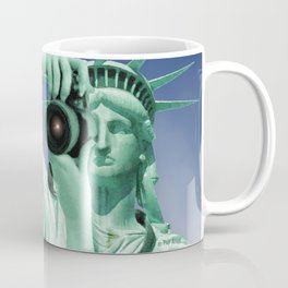Say cheese for Liberty! Coffee Mug