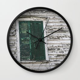 Crooked with Age Wall Clock