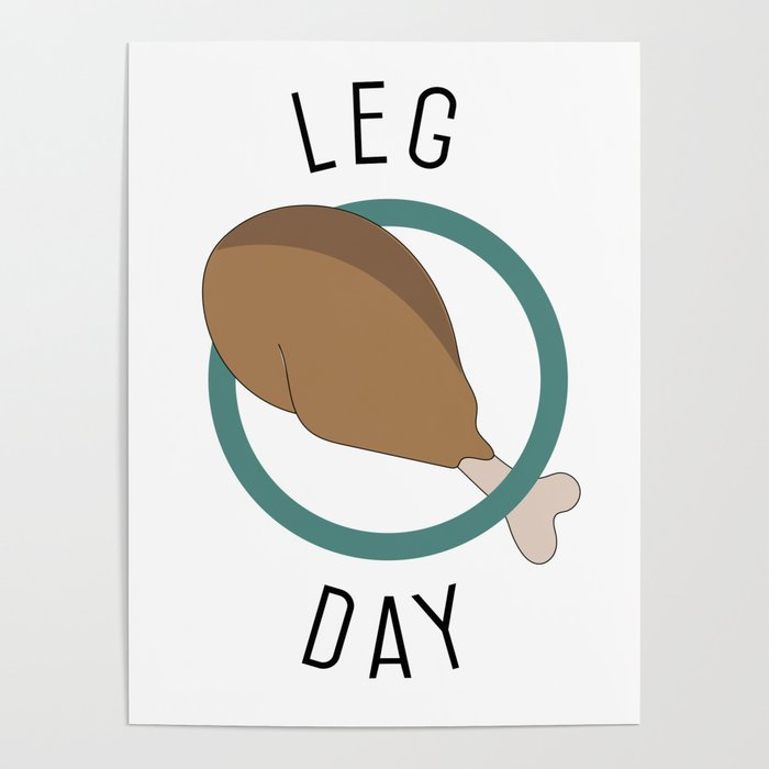 Leg Day Poster