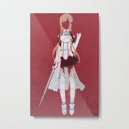 Asuna Metal Print