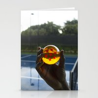 dragon ball Stationery Cards featuring TENNIS(DRGN)BALL. by FREE$MONEY