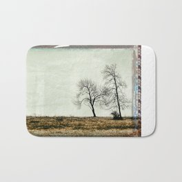 Trees Without Leaves Bath Mat