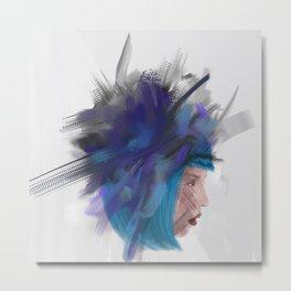 Floating head 1 Metal Print