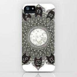 Astrology Signs Mandala iPhone Case