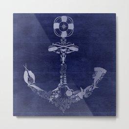 Anchor Me Metal Print
