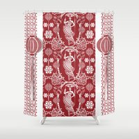 china Shower Curtains featuring Imperial China by Vannina